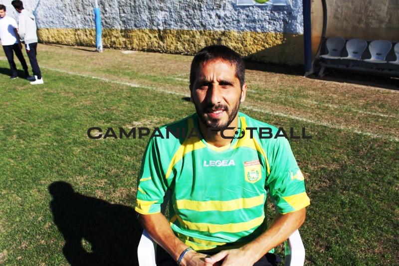 Esclusiva CF: il forte difensore Mario Follera al Portici 1906