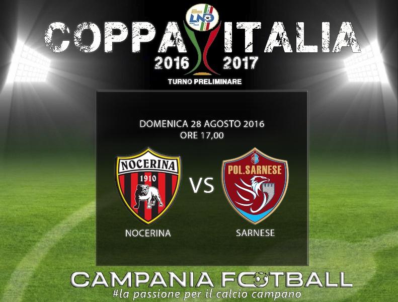 Coppa Italia, verso Nocerina-Sarnese: prezzi tagliandi