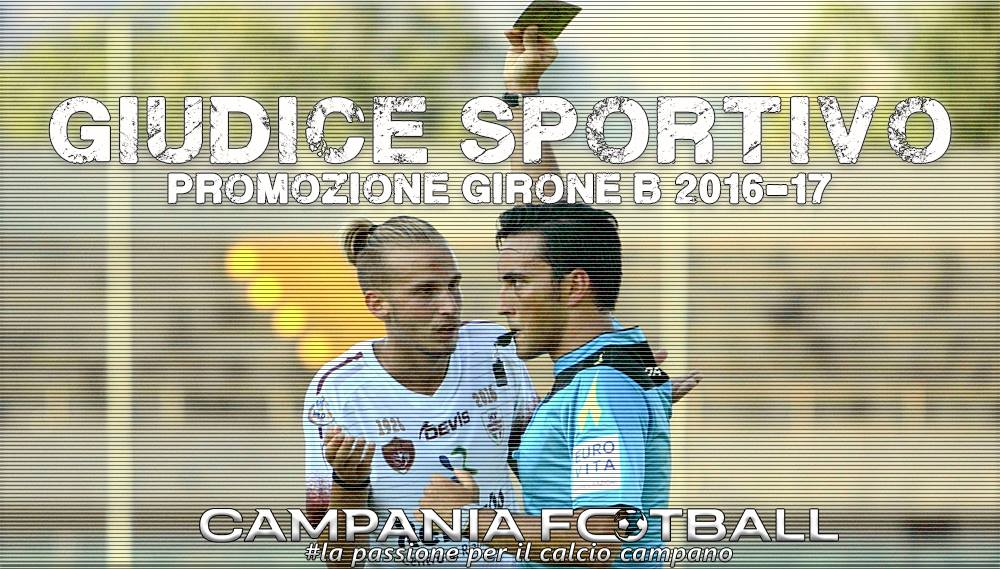 Promozione girone B: giudice sportivo quarta giornata.