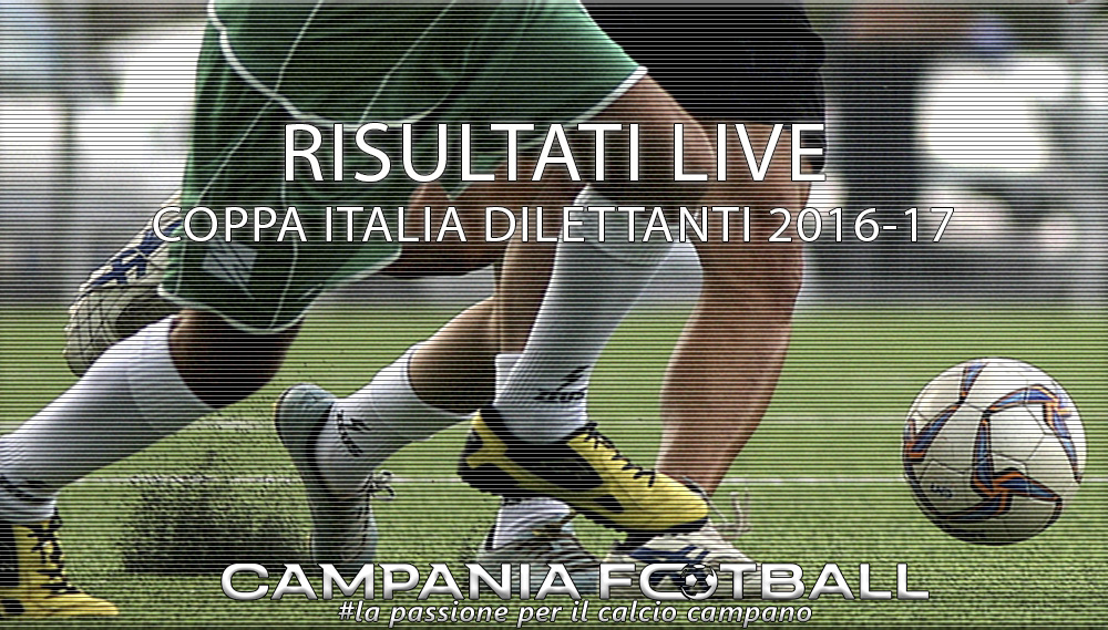 COPPA ITALIA DILETTANTI, RITORNO OTTAVI: RISULTATI FINALI
