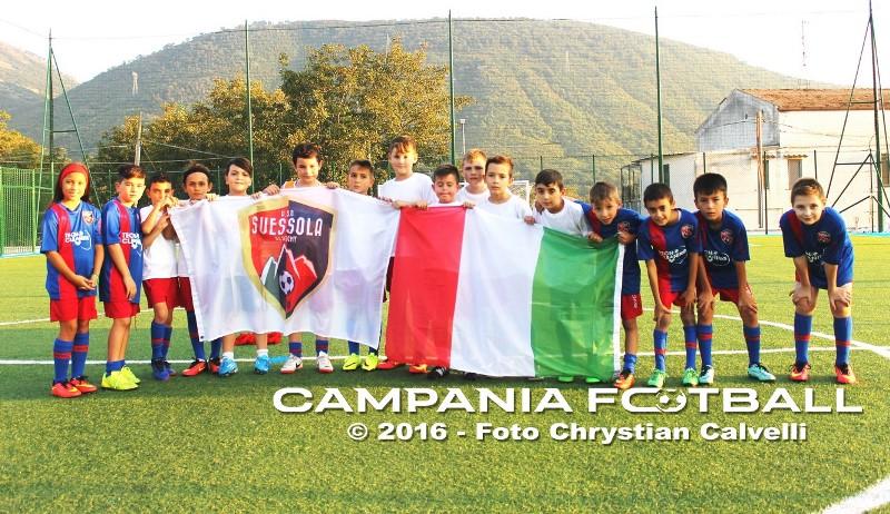 [FOTO] Viaggio nelle scuole calcio: speciale Suessola Academy 1998