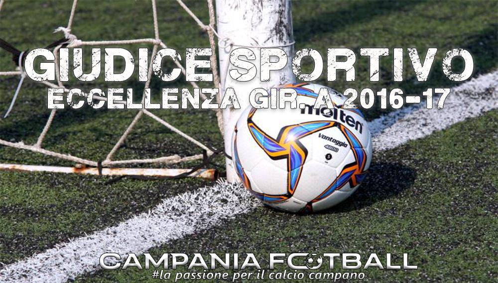 Giudice Sportivo: Eccellenza Girone A 22ª giornata
