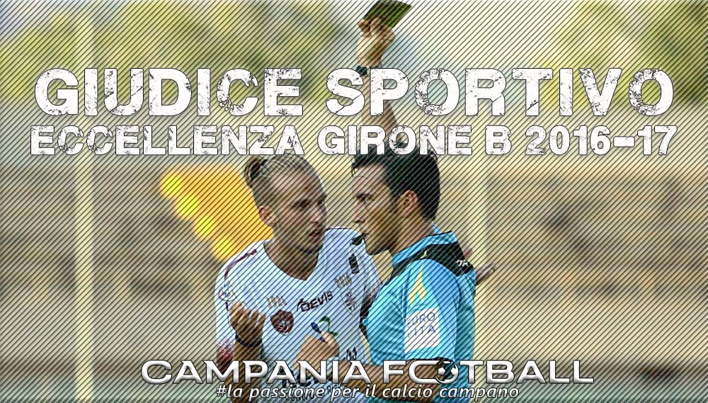 Giudice Sportivo: Eccellenza Girone B 24ª Giornata