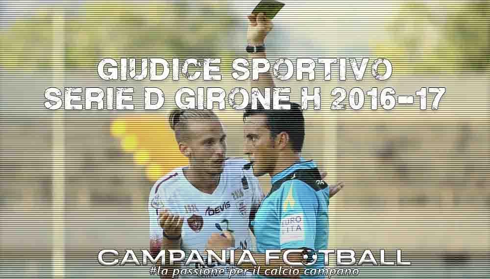 Serie D Girone H, Giudice Sportivo 32ª Giornata