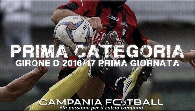Prima Categoria 2016-2017 | girone D: composizione e 1° giornata