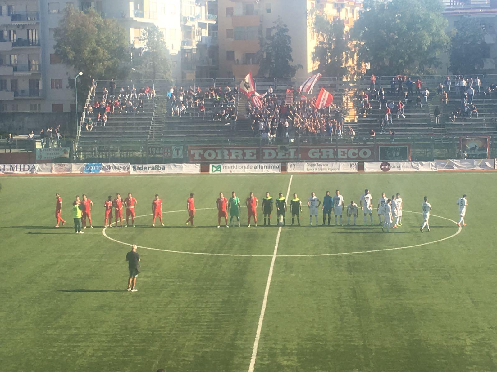 Serie D Girone I, recupero Turris – Roccella: segui la diretta