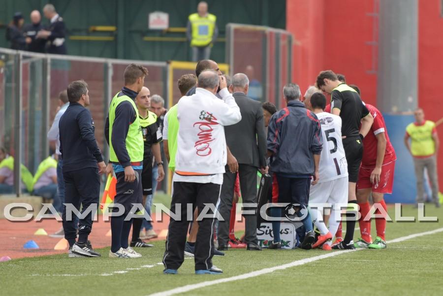 FOTO | Serie D Girone I: Turris – Roccella sospesa