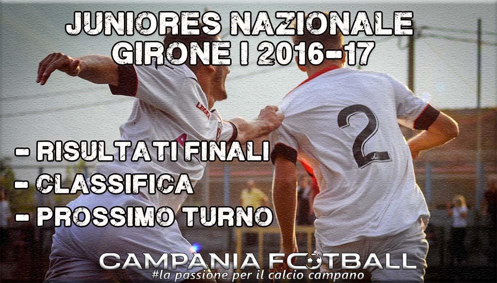 Juniores Nazionale Girone I, 3^ Giornata: risultati finali, classifica e prossimo turno