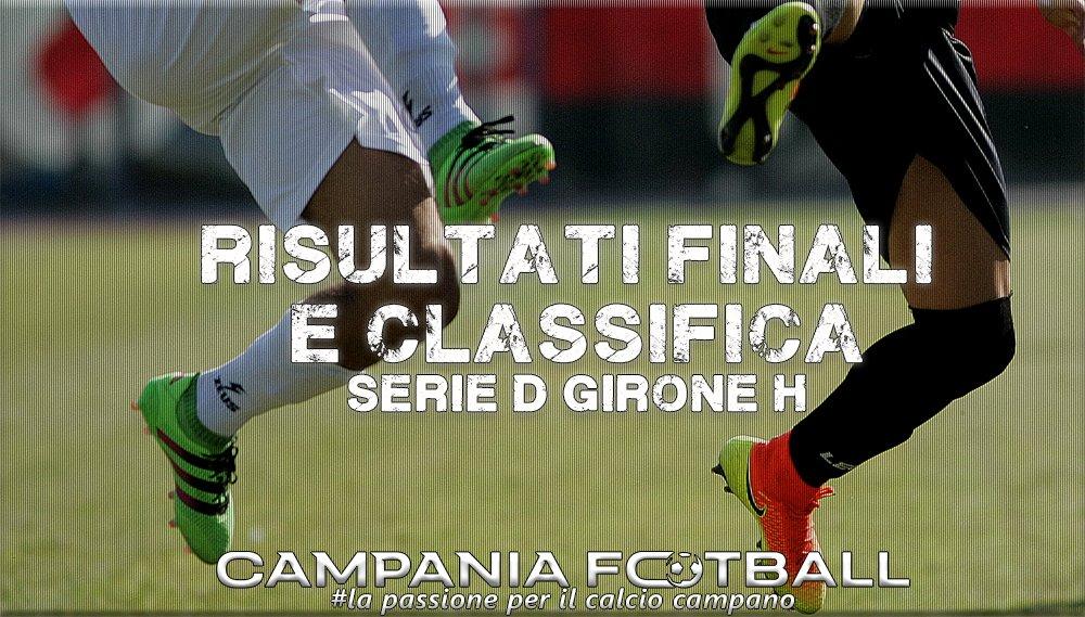 SERIE D GIRONE H, 5^GIORNATA: RISULTATI FINALI E CLASSIFICA