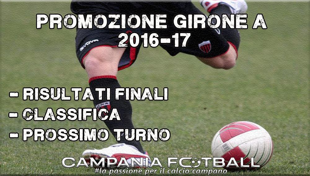 PROMOZIONE GIRONE A, 22^GIORNATA: RISULTATI FINALI, CLASSIFICA E PROSSIMO TURNO