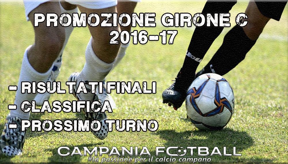 PROMOZIONE GIRONE C, 23^GIORNATA: RISULTATI FINALI, CLASSIFICA E PROSSIMO TURNO