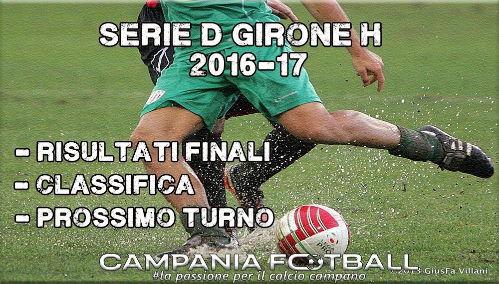SERIE D GIRONE H, 9^GIORNATA: RISULTATI FINALI CLASSIFICA E PROSSIMO TURNO