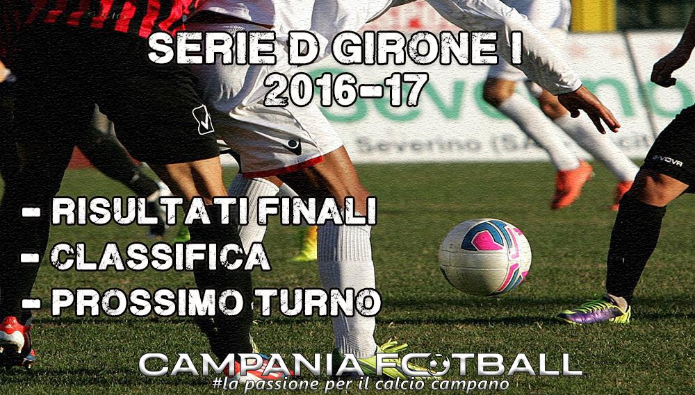 SERIE D GIRONE I, 18^GIORNATA: RISULTATI FINALI, CLASSIFICA E PROSSIMO TURNO