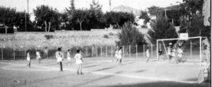 Campo Sportivo di Sorrento - Una delle prime foto del San Vito Positano in azione di gioco (foto gentile concessione Picci)
