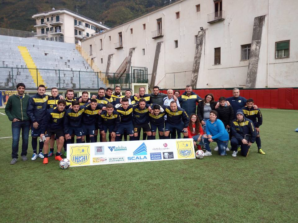 Terza Categoria Salerno Girone A: Giallo Bleu Gragnano – San Vito Cava 7-0