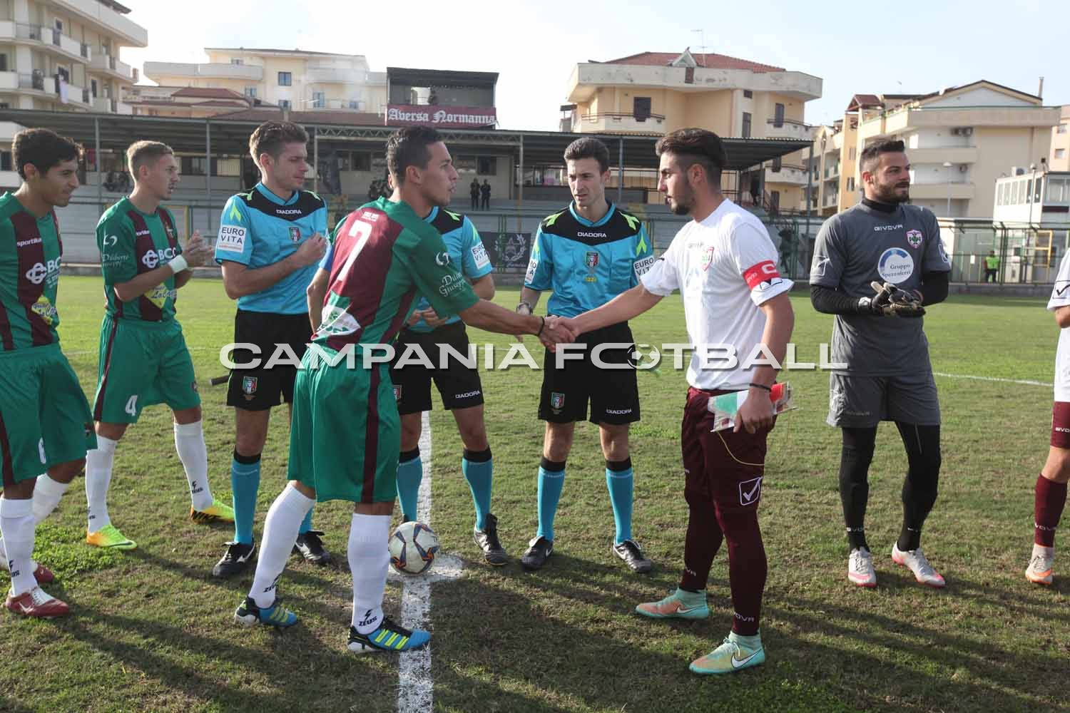 FOTO | Serie D Girone I: Aversa Normanna-Sancataldese 0-0