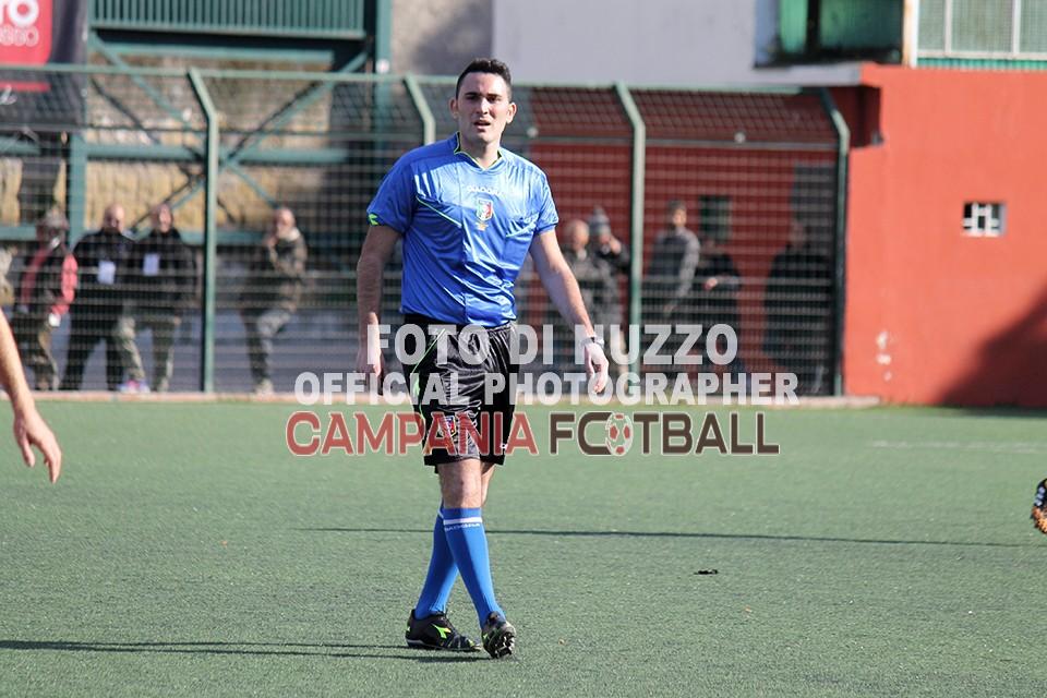Di Maro dirige la sfida di Coppa Italia Castel S. Giorgio-San Tommaso