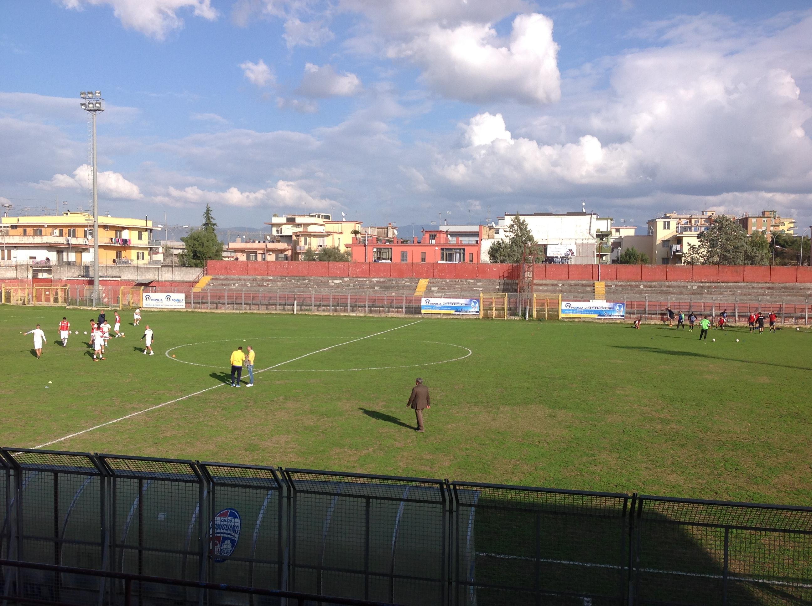 Serie D Girone I, Pomigliano-Gladiator: segui la diretta