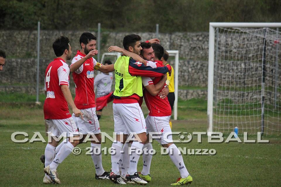 Promozione gir A:. La Virtus Goti 97 ospita il Santa Maria La Fossa a cui rifila 2 gol, gara che all'andata era finita a rete inviolate.