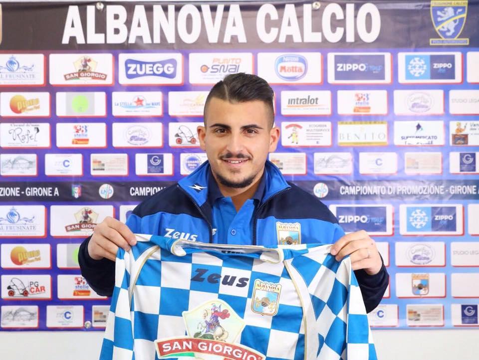 Albanova, preso il centrocampista Spasiano