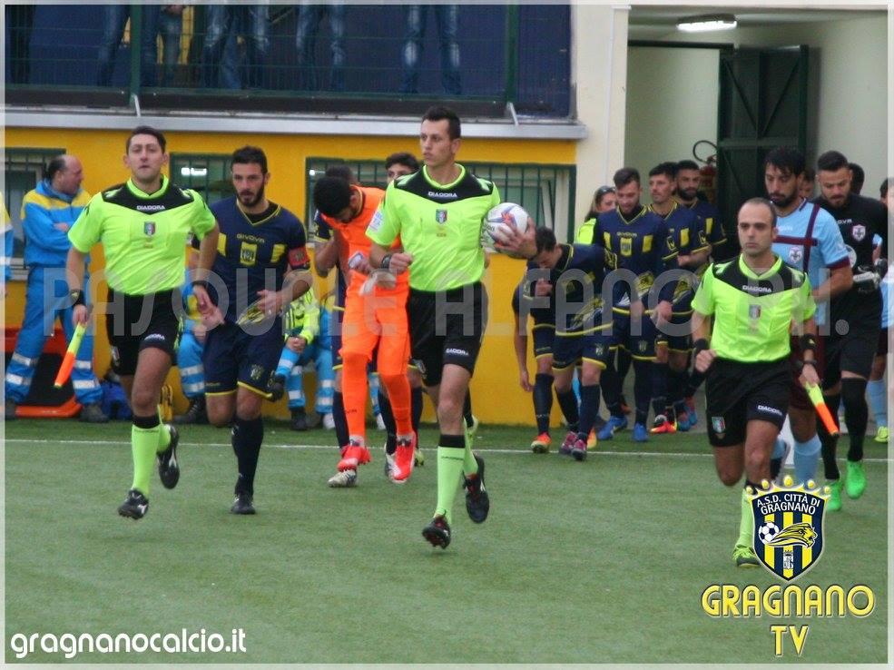 Gragnano ed Aversa Normanna stangate dal Giudice Sportivo