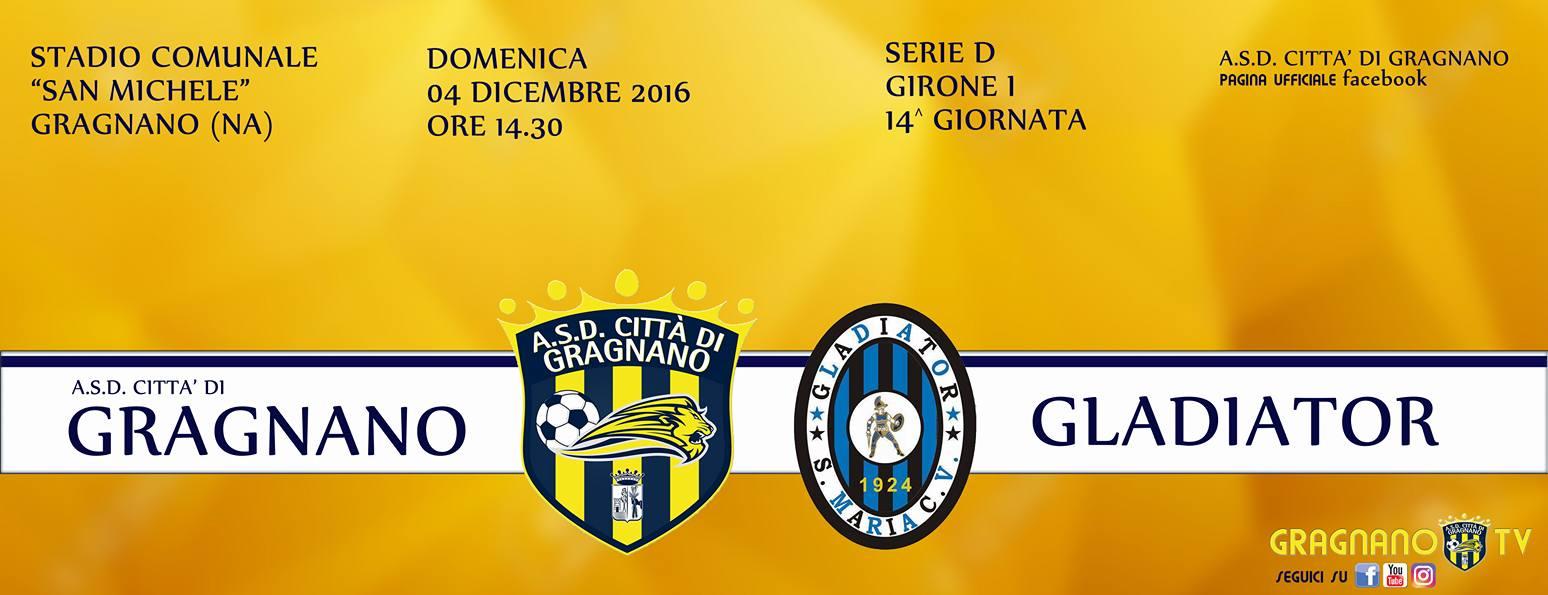 Gragnano-Gladiator: il club casertano presenta reclamo, 4-0 non omologato