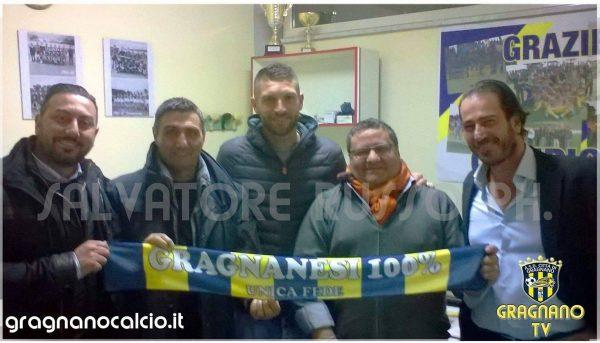 Antonio Del Sorbo ufficialmente al Gragnano