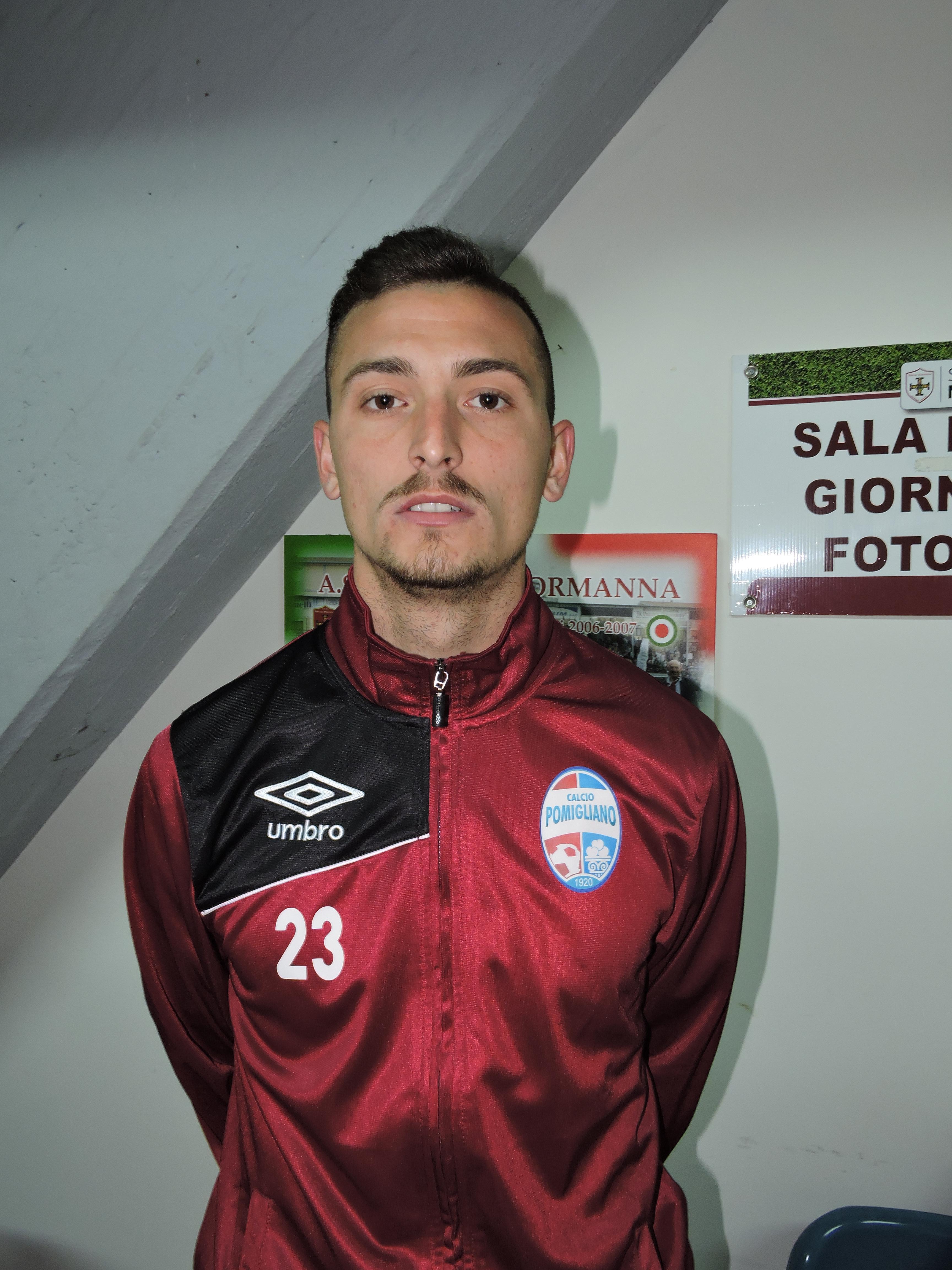 ASD Calcio Pomigliano, dichiarazioni del difensore Davide Iovinella
