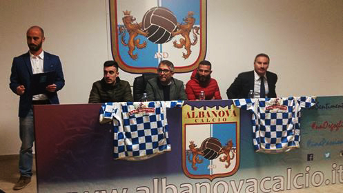 L'Albanova presenta i suoi colpi e lancia la sfida alle big: ecco De Fenza e Venditti