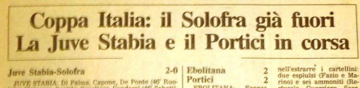 ANTEPRIMA FINALE COPPA ITALIA DILETTANTI 2017 | 50 anni di storia delle due contendenti