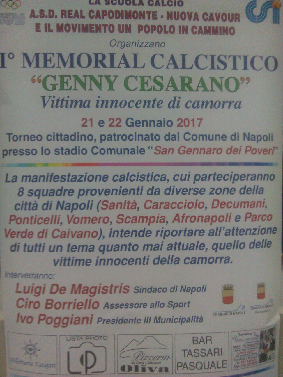 1° MEMORIAL GENNY CESARANO