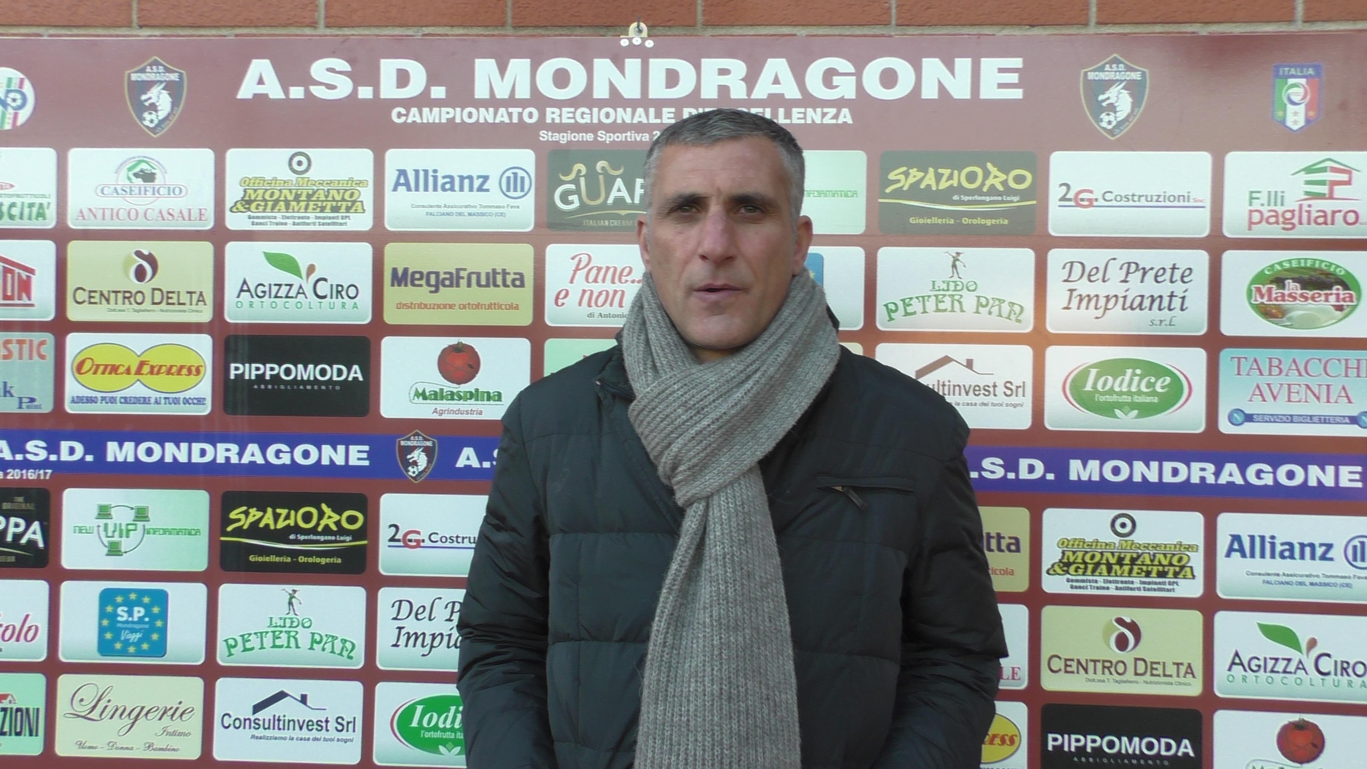 """Mondragone, il diesse Cogliandro è fiducioso: """"Se giochiamo sempre così centreremo l'obiettivo"""""""