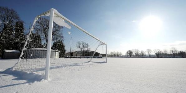 Neve e ghiaccio: rinviate tutte le partite della Promozione Girone C e della Prima Categoria Girone D