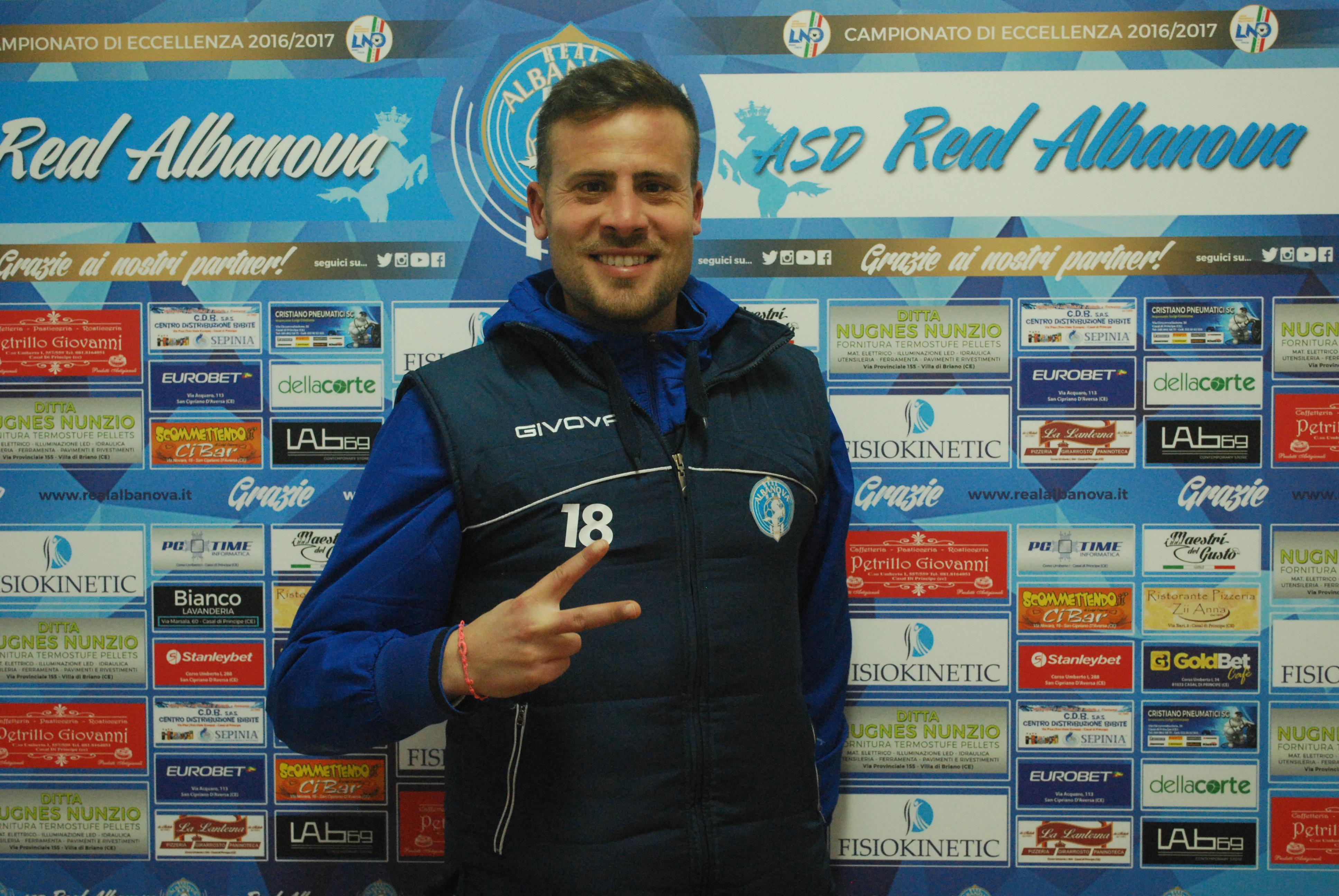 Il difensore della Real Albanova Daniele Silvestro ha rilasciato alcune dichiarazioni dopo la partita contro l'Hermes Casagiove