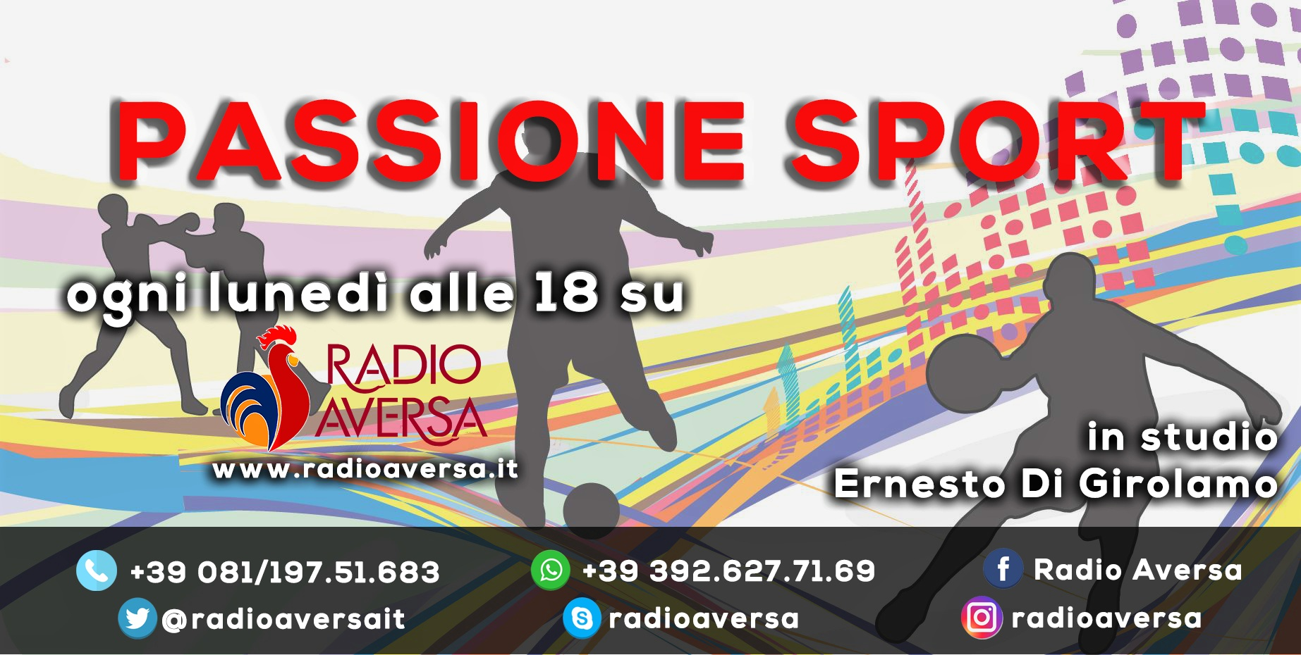 """Nasce """"Passione Sport"""". Tutto lo sport via radio dell'Agro Aversano"""