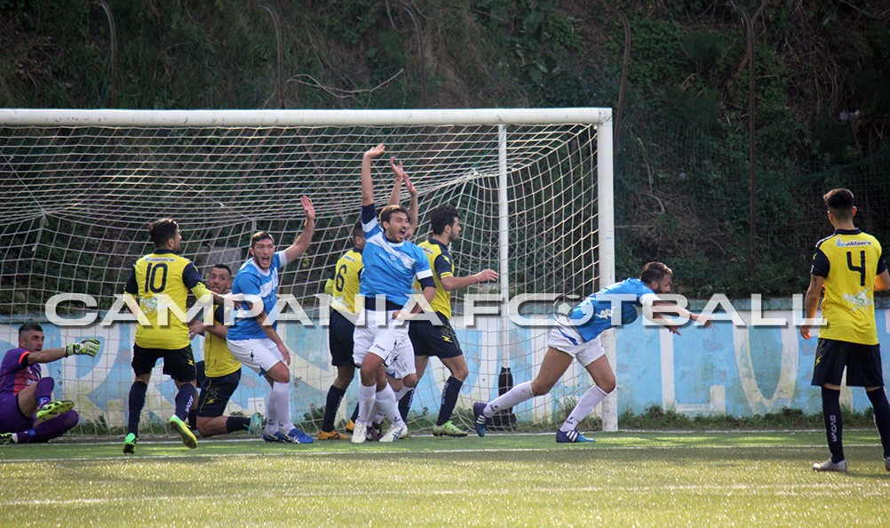 Il punto Promozione girone B: il San Giuseppe morde il Bacoli, l'Ottaviano frena il Monte di Procida