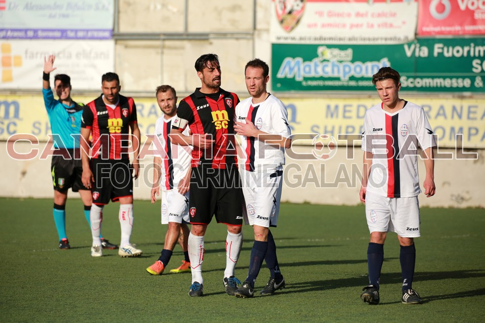 Anticipi Eccellenza girone B: disastro Sorrento, capolavoro S. Agnello