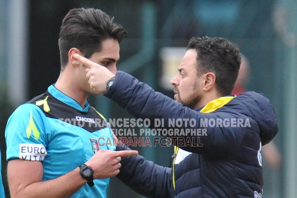 """Nuova Ischia, mister Di Meglio  dopo l'ultima partita pareggiata nel finale""""dobbiamo riprenderci"""""""