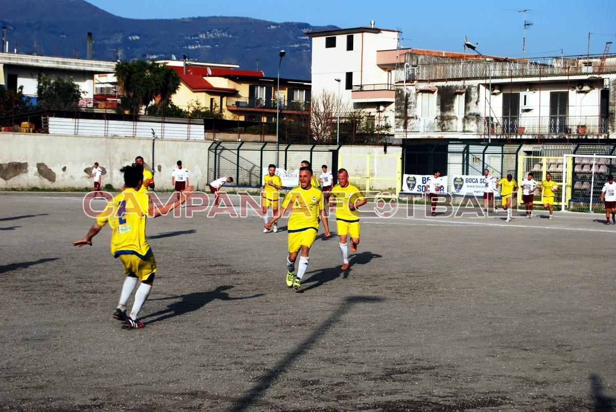 FOTO | PROMOZIONE gir. D: Real Poggiomarino-Calpazio 1-1