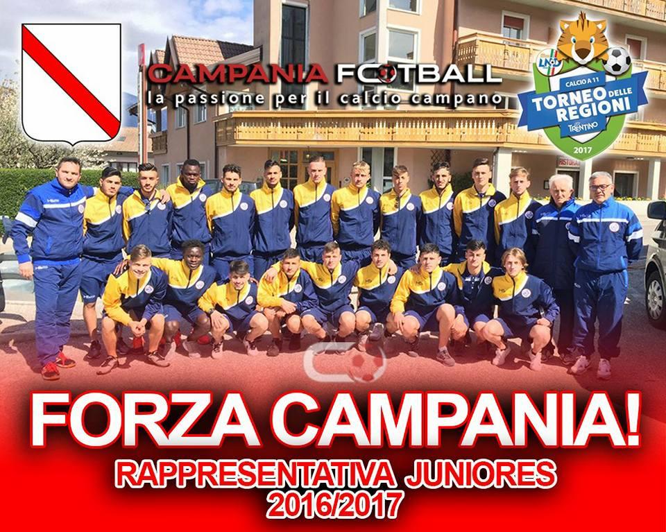 Torneo delle Regioni, Juniores: esordio con manita per la Campania