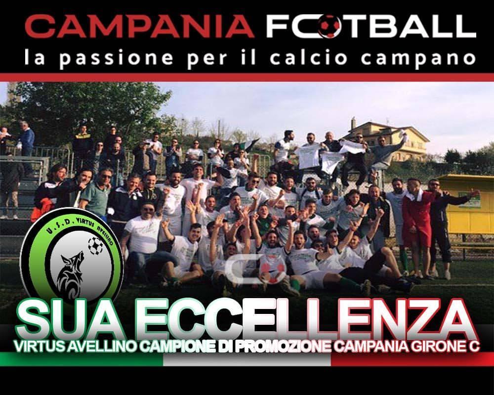 Promozione\C | La Virtus Avellino supera lo Sporting Accadia e vola in Eccellenza