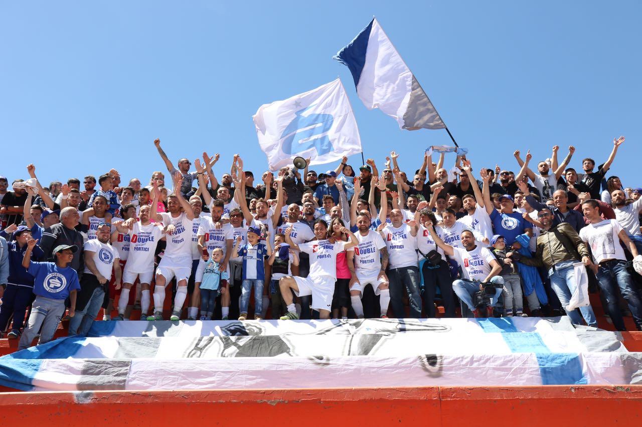 Il Portici è in Serie D: la cronaca del match con la Neapolis