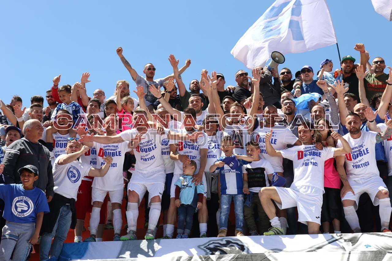 FOTO | Eccellenza Girone A: la Festa promozione in D del Portici