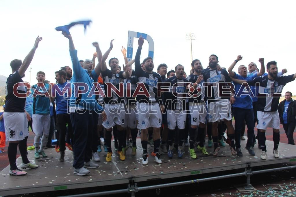 Il 2017 dell'Ebolitana: vittoria del campionato, ma anno in decrescenza