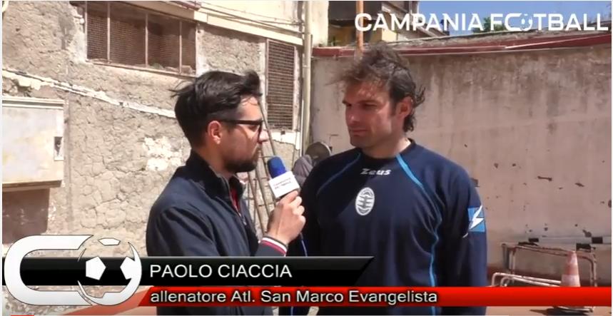 VIDEO | Prima Categoria Girone B: le parole di Paolo Ciaccia (allenatore Atl. San Marco) al termine della sfida col Foglianise