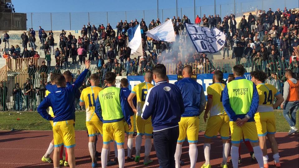 Al San Ciro si arrende anche il Real Forio, Portici a tre punti dalla D