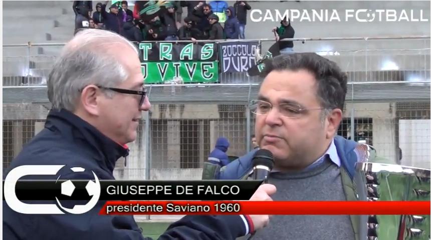 VIDEO | Saviano vince la Coppa Campania II Categoria: le parole del Presidente De Falco