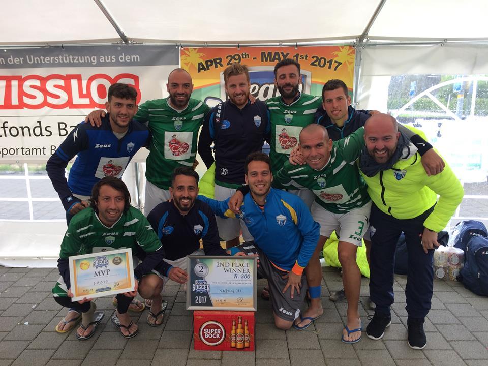 COMUNICATI | Napoli Beach Soccer secondo al torneo di Basilea