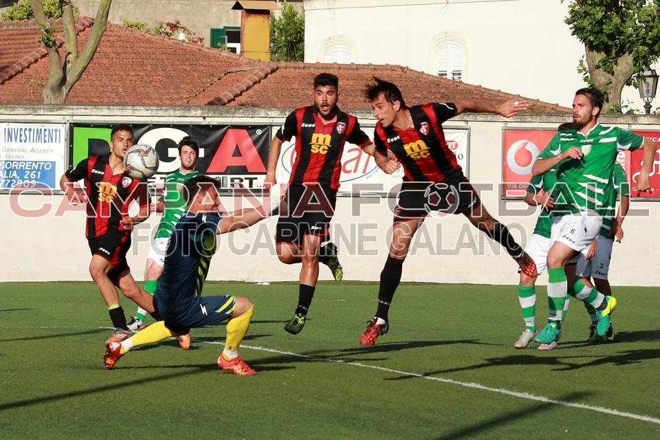 FOTO | ECCELLENZA GIRONE B PLAY OFF: Fc Sorrento-Faiano 3-1