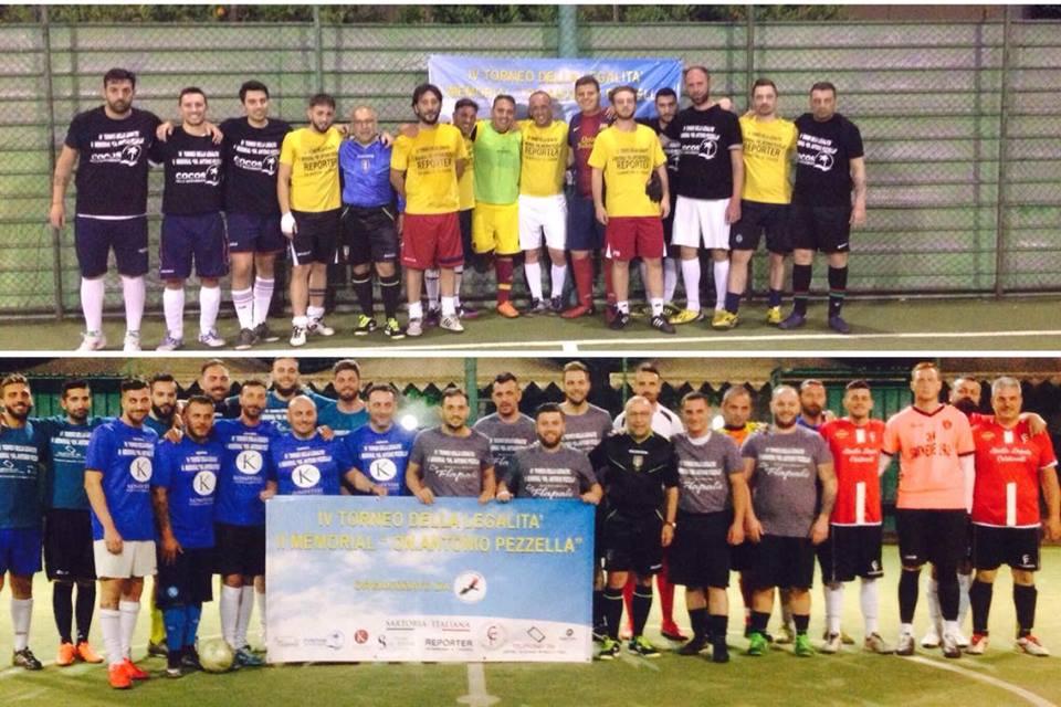 COMUNICATI | IV Torneo della Legalità – II Memorial Pezzella: prima giornata